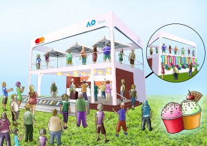 MASTERCARD Ice Cream Parlor 2